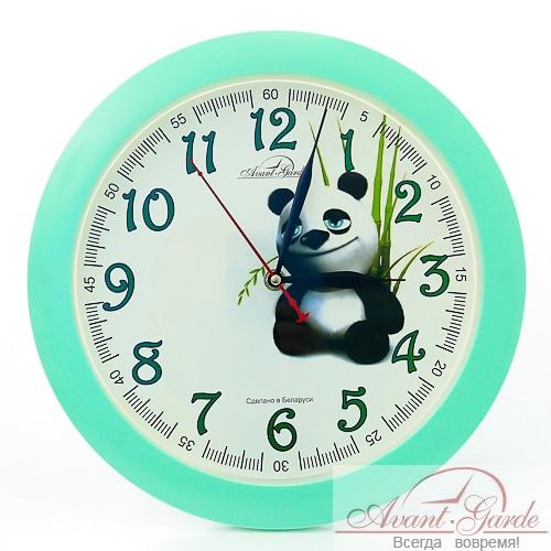 настенные часы из пластика панда (1)