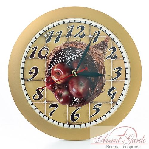 настенные часы из пластика яблоки (2)